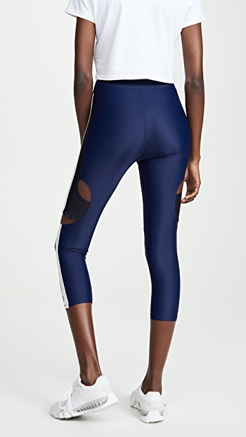 Cushnie High Waisted Cropped Leggings