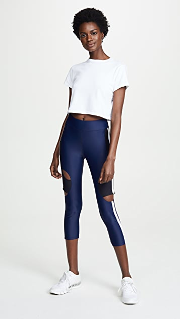Cushnie Et Ochs High Waisted Cropped Leggings