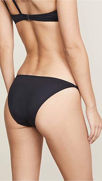 Cushnie Et Ochs Bikini Bottoms with Side Straps