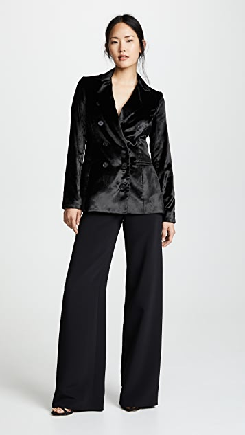 Cushnie Fitted Double Breasted Button Jacket