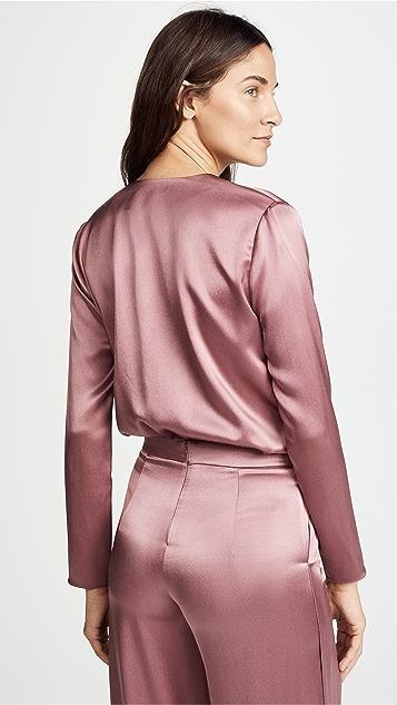 Cushnie Et Ochs Blouson Style Bodysuit