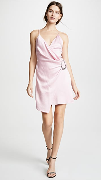 Cushnie Mini Dress with Dripping Ring
