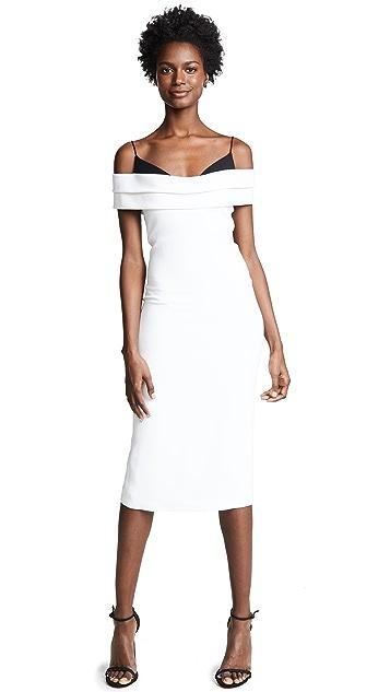 Cushnie Off Shoulder Pencil Dress