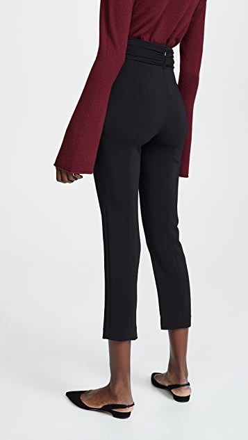 Cushnie High Waisted Fitted Pants