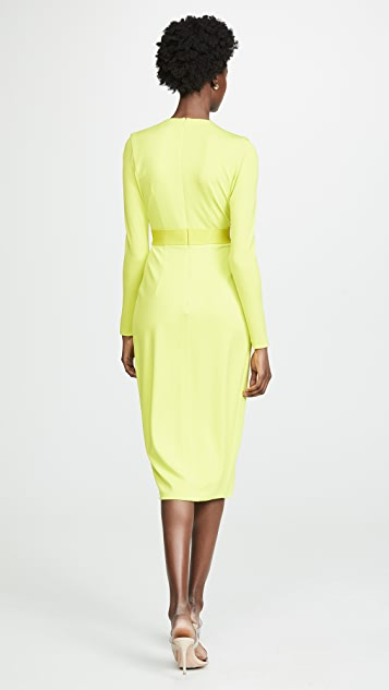 Cushnie Long Sleeve Dress