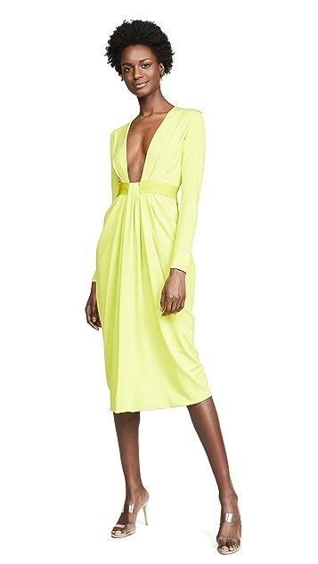 Cushnie Long Sleeve Dress