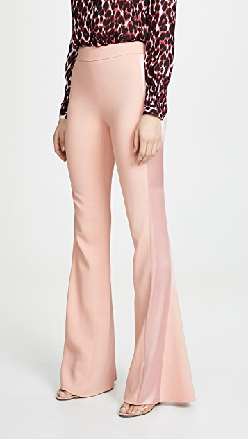 Cushnie High Waisted Flare Pants