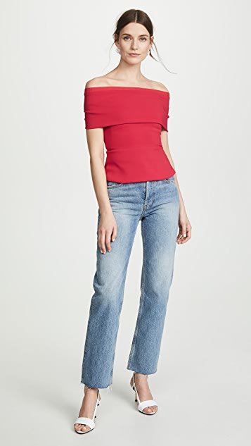 Cushnie Off Shoulder Top