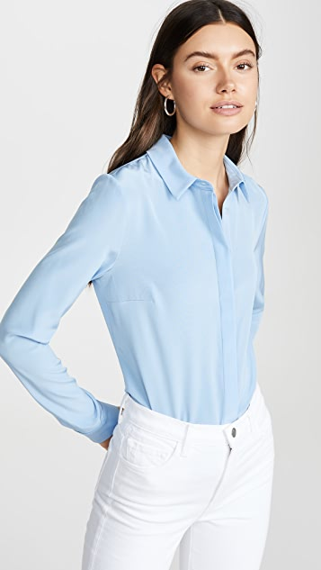 Cushnie Button Down Blouse