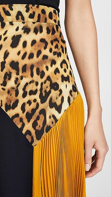 Cushnie Миди-юбка с высокой талией