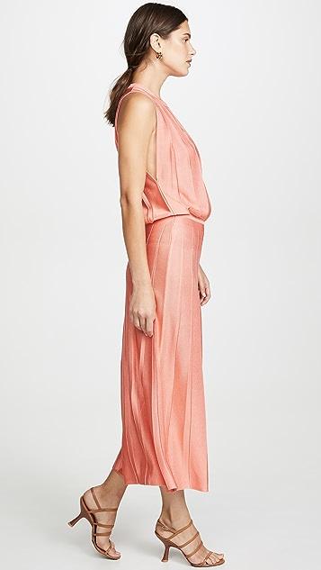 Cushnie Sleeveless Midi Dress