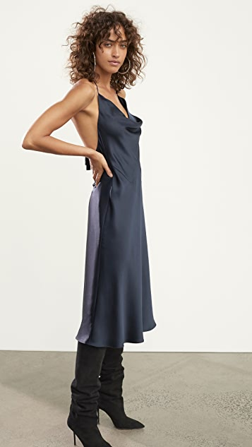 Cushnie Halter Neck Slip Dress