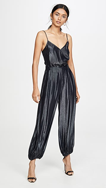 Cushnie Cami Tank with Sheer Back