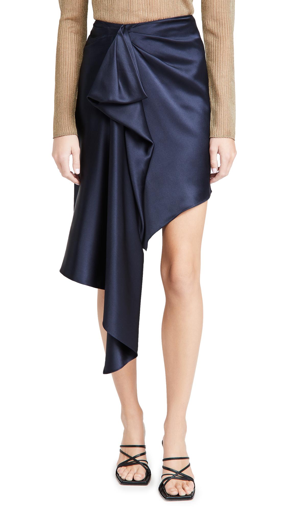 Cushnie High Waisted Asymmetrical Hemmed Skirt