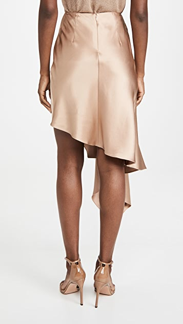 Cushnie High Waisted Asymmetrical Skirt