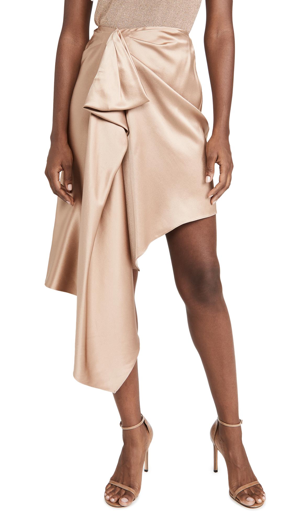 Cushnie High Waisted Asymmetrical Skirt