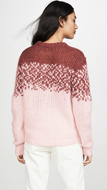 custommade Maggie 马海毛套头衫