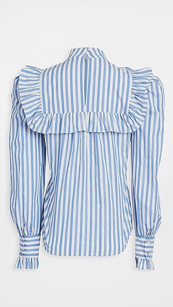 custommade Vivica Stripes Shirt