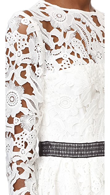 Cynthia Rowley Wild Flower Lace Dress
