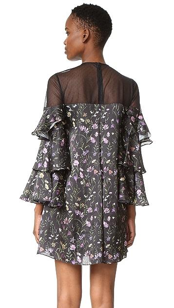 Cynthia Rowley Prairie Floral Mini Dress