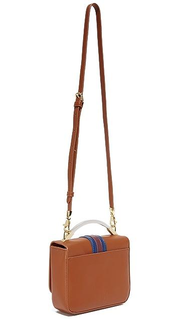 Cynthia Rowley Gemma Floral Lock Bag