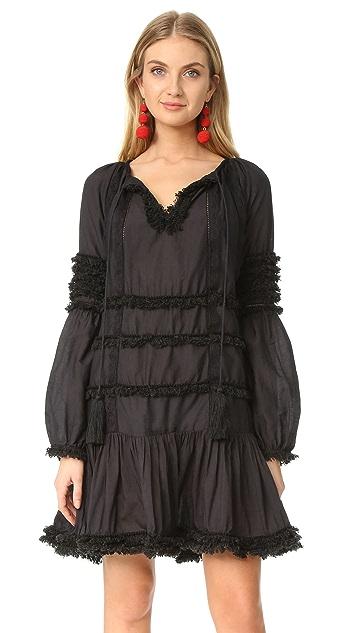 Cynthia Rowley Fringe Dress
