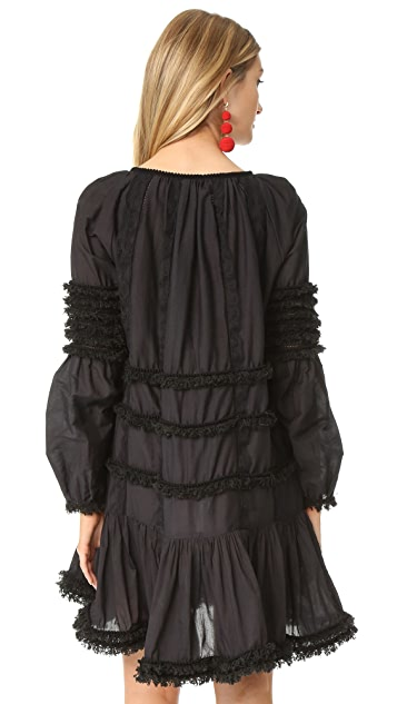 Cynthia Rowley Fringe Dress
