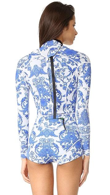 Cynthia Rowley Print Wetsuit