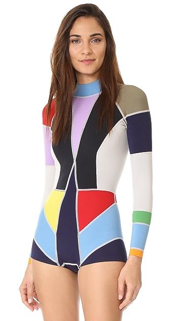 8369d29198 Cynthia Rowley Colorblock Wetsuit | SHOPBOP