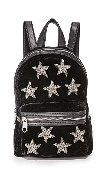 Cynthia Rowley Knox Velvet Mini Backpack