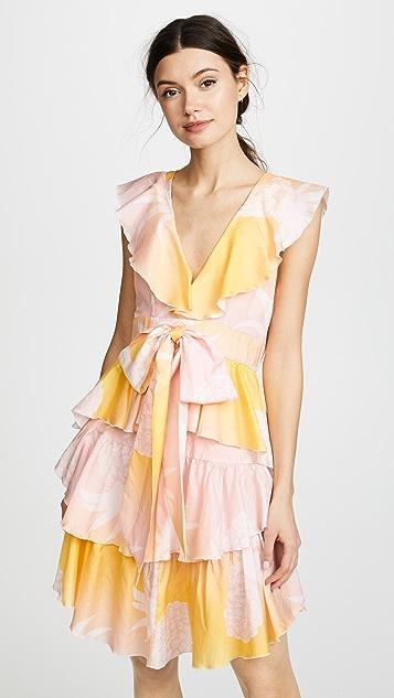 Cynthia Rowley Jetset Pineapple Dress