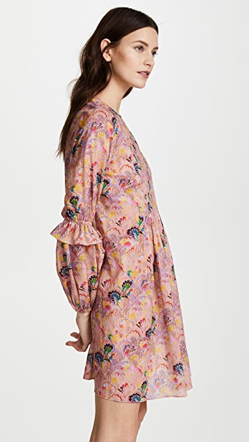 Cynthia Rowley Havana Pintuck Dress