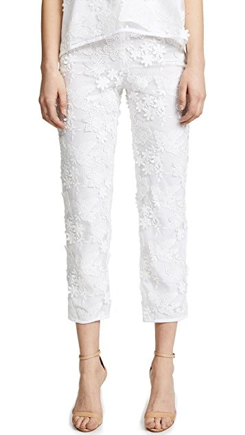 Cynthia Rowley Crossfade Lace Pants