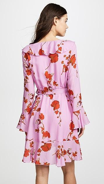 Cynthia Rowley Malibu Ruffle Mini Dress