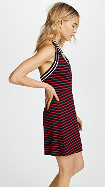 Cynthia Rowley Lisbon Striped Mini Dress
