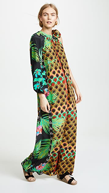 Cynthia Rowley Offshore One Sleeve Dress