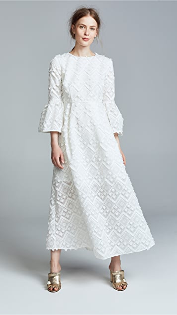 Romy Lace Bell Sleeve Dress by Cynthia Rowley