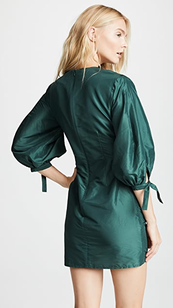 Cynthia Rowley Ruched Mini Dress