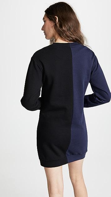 Cynthia Rowley Платье-толстовка Cali York с вышивкой