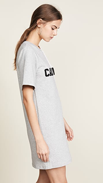 Cynthia Rowley Cali York Embroidered T-Shirt Dress