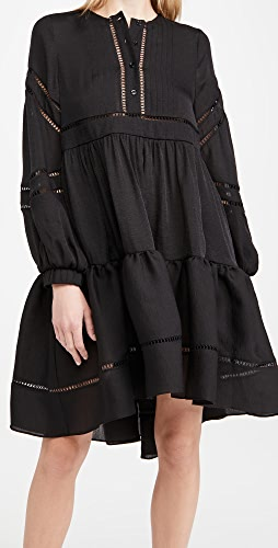 Cynthia Rowley - Roma Lace Trim Dress