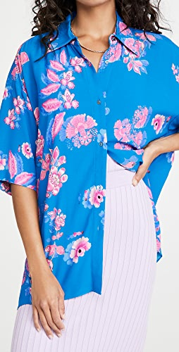 Cynthia Rowley - Casbana Camp Shirt