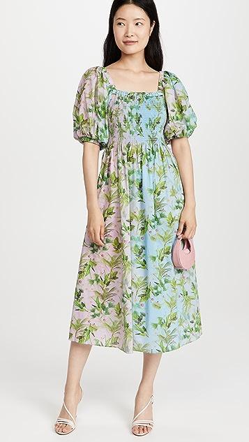 Cynthia Rowley Printed Cotton Dress