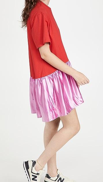 Cynthia Rowley T 恤连衣裙