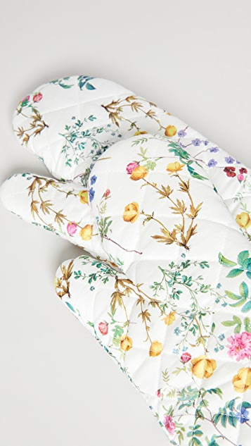 Cynthia Rowley Quilted Oven Mitts