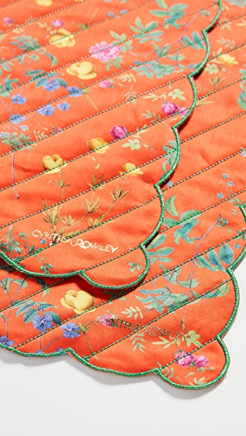 Cynthia Rowley Quilted Placemats