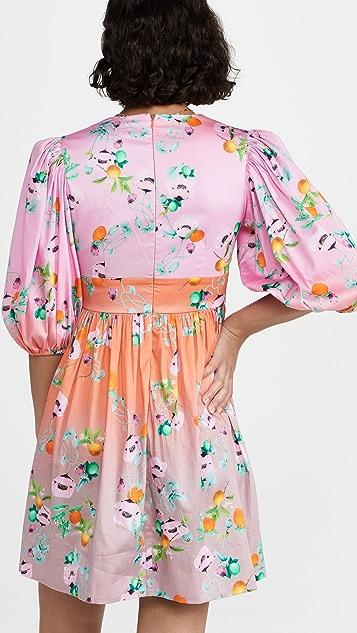 Cynthia Rowley Ombre Floral Mini Dress