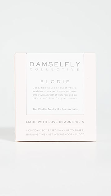 Damselfly Only The Good Vibes Candle