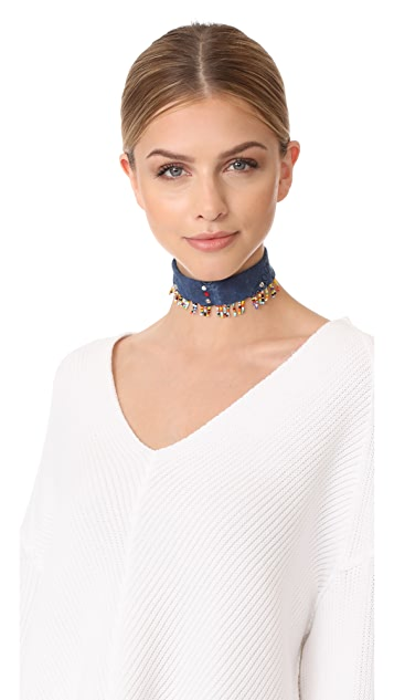 DANNIJO Amabel Choker Necklace
