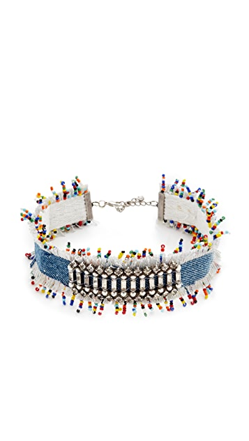 DANNIJO Birdie Choker Necklace